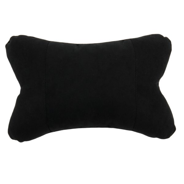 Подушка автомобильная черная из ткани Kerdis