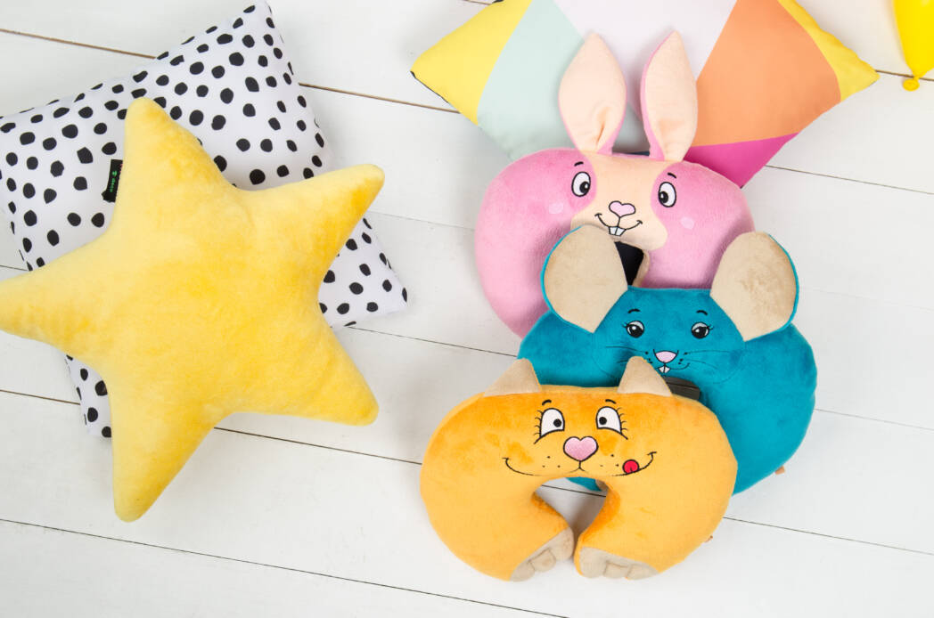 Оригинальные детские подушки Kerdis