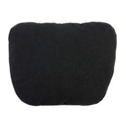 Подушка подголовник Премиум чёрная
