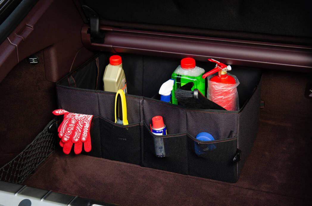 Полужесткий органайзер в багажник автомобиля