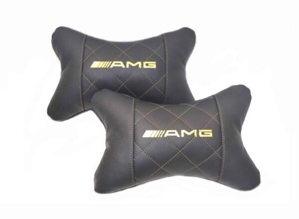 Купить подушку с логотипом AMG